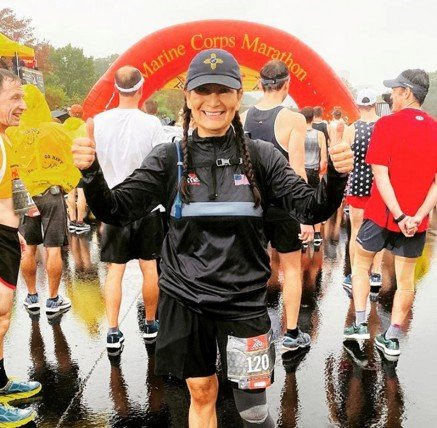 Haaland marathon runner