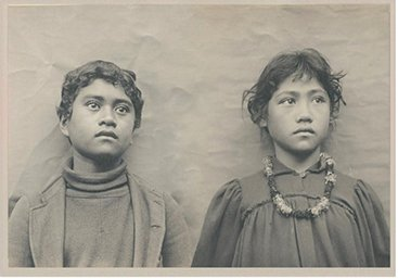 hawaiian schoolchildren