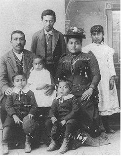 native hawaiian family circa 1890